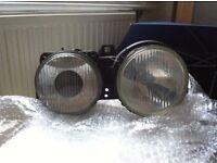 "BMW Hella ""Bull eye"" headlight assembly"