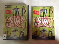 REDUCED PRICE. Triple Sims Computer game. Excellent condition