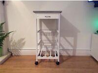Kitchen island trolley