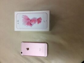 I PHONE 6S OPEN TO ANY NETWORK ROSE PINK EXCELLENT CONDITION