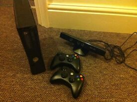 Xbox 360 slim with kinect - 250GB (2015). Good condition. £80 ono