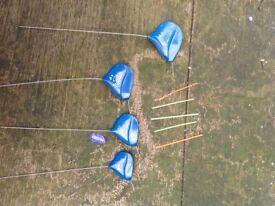 Cralusso flat pole floats