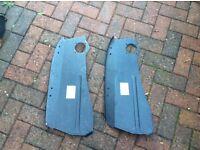 Pair of magnum classic mini front inner wing repair panels