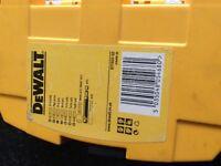 Dewalt Bit Set (45 Pieces) New in Tough Case