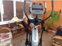 Cross trainer to sell in excellent condition £1200 new. Will sell for £600