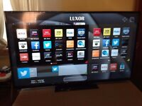 "32"" FULL SMART LUXOR LUX0132002 FULL HD LED SMART TV WITH BUILT IN FREE VIEW IN PERFECT CONDITION."