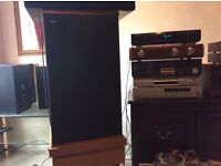 B&w dm2 speakers .