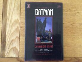 Batman, Crimson Mist, Book