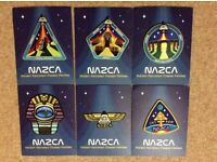 Full set of Ancient Astronaut Mission Patches (x6)