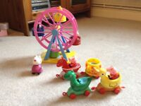 PEPPA PIG FERRIS WHEEL AND THEME PARK RIDE