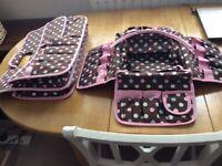 Craft storage bags
