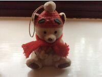 Christmas Teddy Bear Decoration