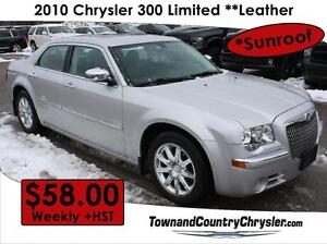 2010 Chrysler 300 Limited Only $58.00 a week!!!