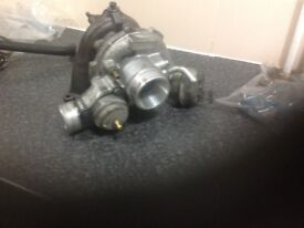 Saab 93 turbo charger(garret)+oil and water lines+injectors(03-07)