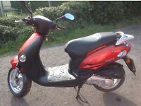 2002 Kymco Yup 49cc 2 Stroke Scooter