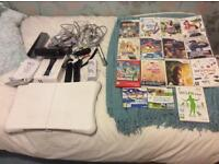 Nintendo Wii with lots of accessories, Wii fit board & loads of games!!!