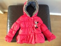 Disney Minnie Mouse jacket for girls