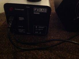 Smoke Machine + Bubble machine DJ Equipment sound lab & FX lab