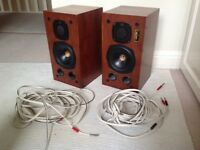 A set of Castle Treble+ Trent II speakers
