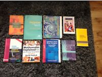 Various primary education degree books