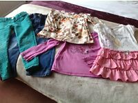 Bundle of Girls Clothes 4-5 yrs