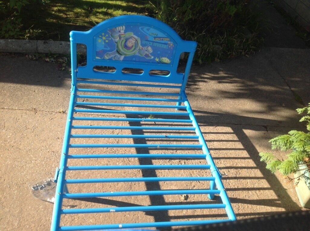 Toy Story Lovely Metal Frame Bed Toy Story Headboard Toddler Bed