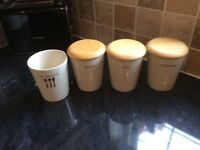 Marks and Spencer's kitchen canisters