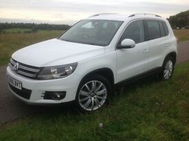 VOLKSWAGEN TIGUAN 2.0 TDI BLUEMOTION TECH MATCH EDITION 2015 (65 Reg) Price £14500 Finance Arranged