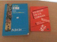 German GCSE books x 2