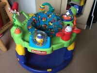 Graco entertainer - sit-in toy, suitable for babies who can hold their heads up unaided