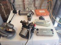 Job lot of ideal boiler parts