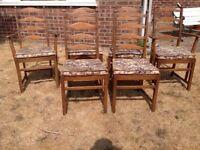 6 ercol chairs