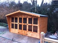 Top quality 12x8 summer house