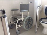 Freeway Shower Chair with wheels