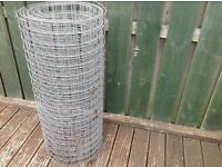 Roll of Welded Wire Mesh- 3ft in height X approx 7/8 feet long.