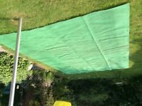 Soft breathable ground sheet