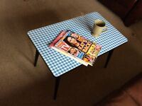 Lovely little retro coffee table