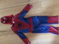 World book day -spiderman costume 5-6 yrs