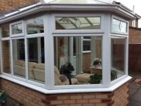 Used double glazed upvc Conservatory 2.6mtr x 2.9mtr