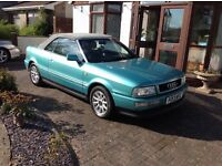 Audi cabriolet 2.6 e manual with 87000 miles with service history
