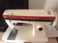 sewing machine by singer