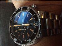 Oris mens aquis automatic divers watch