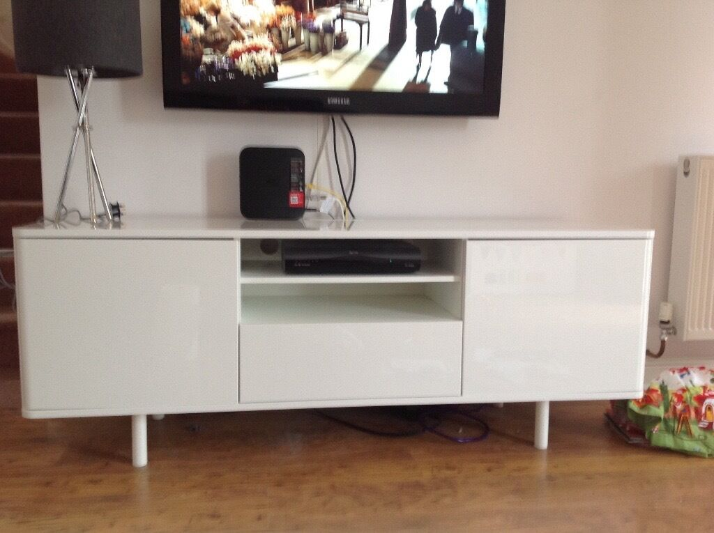 Ikea Mostorp To Bench In White Gloss In Netley Abbey