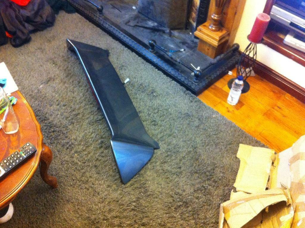Grey Type r spoiler in Ballymena County Antrim Gumtree