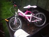 5 kids bikes job lot all diffrent sizes