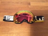 WED'ZE SKI/SNOWBOARD GOGGLES ADULTS WORN ONCE