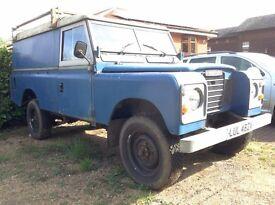 Land Rover Series 3 LWB (109') 'utility' body - 72,808 miles, 1st reg 1982 - CLASSIC!