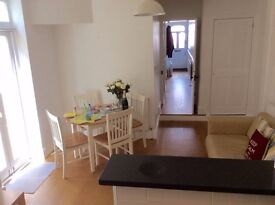 Spacious two double bedroom furnished garden flat