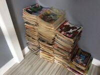 200AD and Judge Dredd Megazines for sale.
