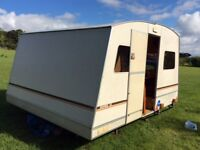Exportmatic - the largest Rapido folding caravan